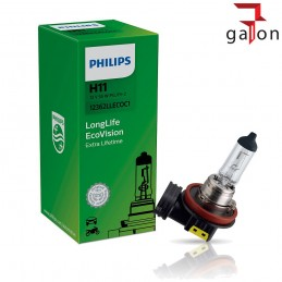 PHILIPS LongLife EcoVision H11 12V 55W PGJ19-2 1szt