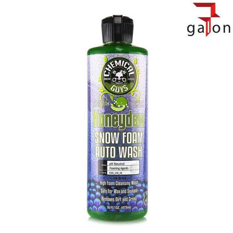 CHEMICAL GUY'S HONEYDEW SNOW FOAM AUTO WASH 473ml