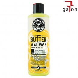 CHEMICAL GUY'S BUTTER WET WAX 473ML wosk polimerowy z carnaubą