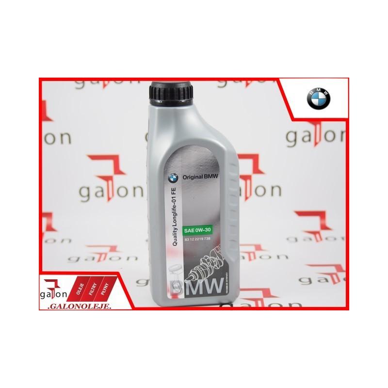 BMW 0W30 QUALITY LONGLIFE-01 1L ORIGINAL BMW SklepOnline Galonoleje.pl