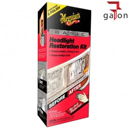MEGUIARS BASIC HEADLIGHT RESTORATION KIT G2960- Sklep Galonoleje.pl