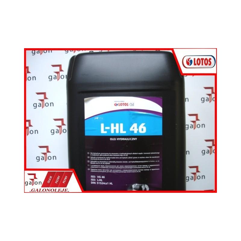LOTOS HYDROL L-HL 46 30L 26KG | Sklep Online Galonoleje.pl