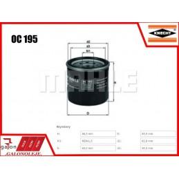 KNECHT FILTR OLEJU OC 195 (zastępuje OC 285)