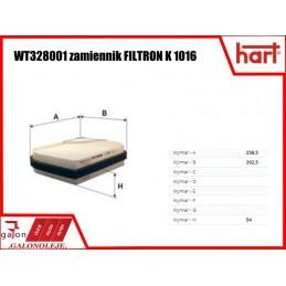 HART FILTR KABINOWY 328 418 K 1016