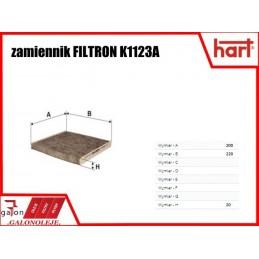 HART FILTR KABINOWY 371 509 K1123A węglowy