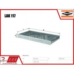 KNECHT FILTR KABINOWY WĘGLOWY LAK 117