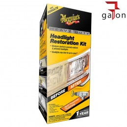 MEGUIARS HEAVY DUTY HEADLIGHT RESTORATION NEW KIT G7014- Galonoleje.pl
