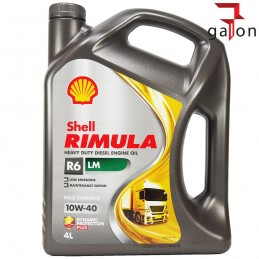 SHELL RIMULA R6 LM 10W40 4L