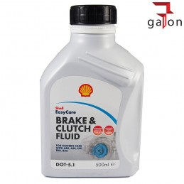SHELL BRAKE & CLUTH FLUID DOT 5.1 500ML - płyn hamulcowy
