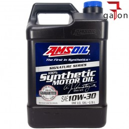 AMSOIL SIGNATURE SERIES 100% SYNTHETIC MOTOR OIL 10W30 3.784L ATM