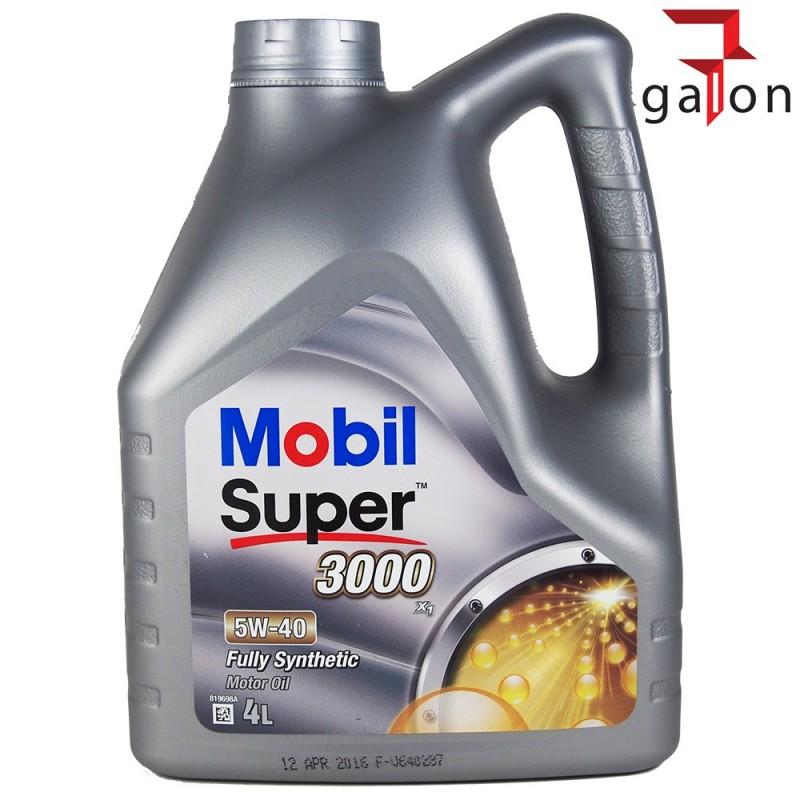 MOBIL SUPER 3000 X1 5W40 4L   Sklep Online Galonoleje.pl