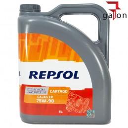 REPSOL CAJAS EP CARTAGO 75W90 5L | Sklep Online Galonoleje.pl