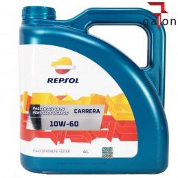 REPSOL CARRERA 10W60 4L syntetyczny olej| Sklep Online Galonoleje.pl