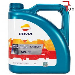 REPSOL CARRERA 5W50 4L syntetyczny olej| Sklep Online Galonoleje.pl