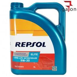 REPSOL ELITE LONG LIFE 50700/50400 5W30 5L - syntetyczny olej silnikowy