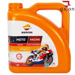 REPSOL MOTO RACING 4T 10W50 4L | Sklep Online Galonoleje.pl