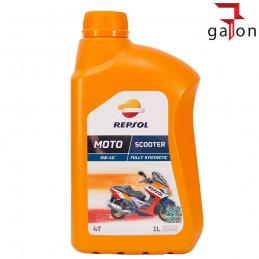 REPSOL MOTO SCOOTER 4T 5W40 1L - syntetyczny olej do czterosuwów