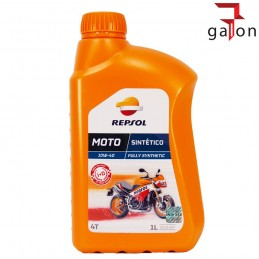REPSOL MOTO SINTETICO 4T 10W40 1L | Sklep Online Galonoleje.pl