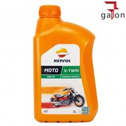 REPSOL MOTO V-TWIN 4T 20W50 1L - mineralny olej do czterosuwów