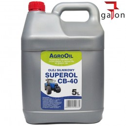 AGROOIL SUPEROL CB 40 5L - olej silnikowy | Sklep Online Galonoleje.pl