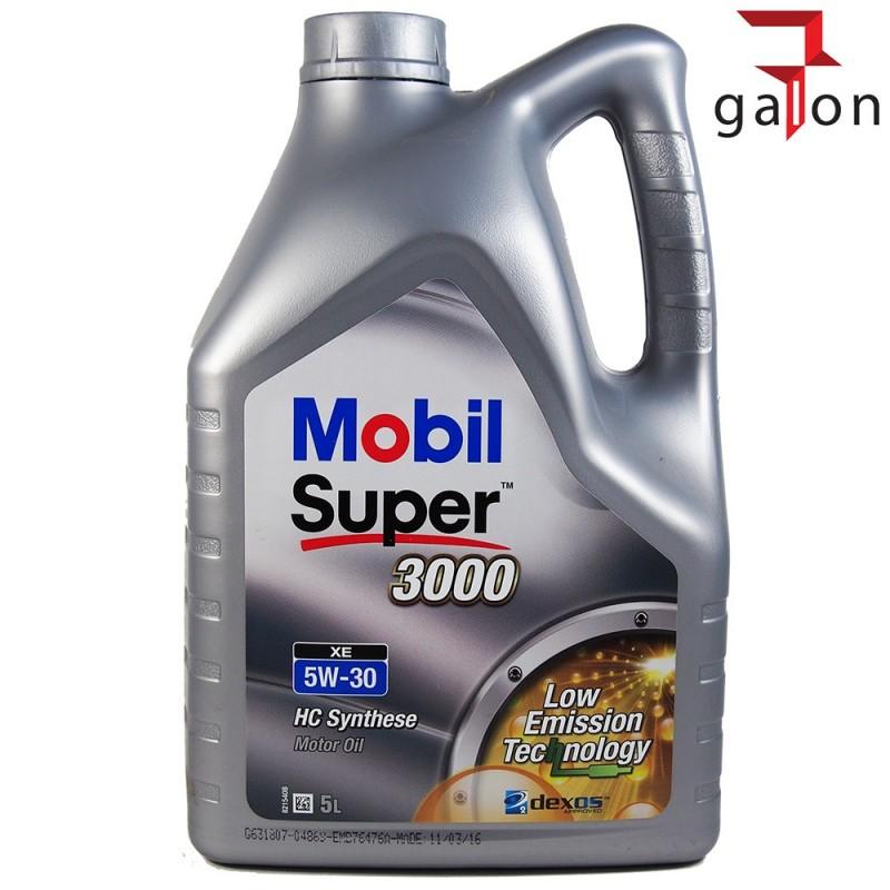 MOBIL SUPER 3000 XE 5W30 5L | Sklep Online Galonoleje.pl