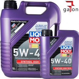 LIQUI MOLY SYNTHOIL HIGH TECH 5W40 6L (5L+1L) 1307/1856 |Galonoleje.pl6
