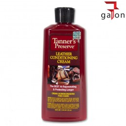 TANNER'S PRESERVE LEATHER CONDITIONING CREAM 221ml - środek do konserwacji skór