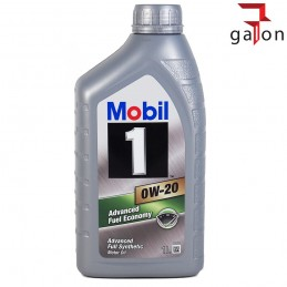 MOBIL 1 ADVANCED FUEL ECONOMY 0W20 1L | Sklep Online Galonoleje.pl