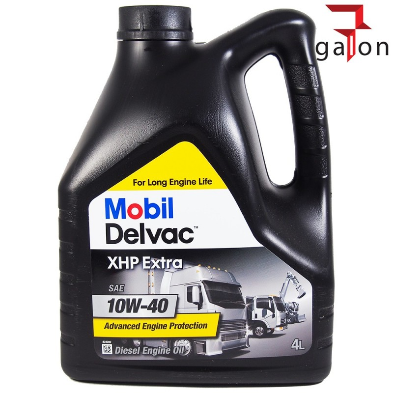 MOBIL DELVAC XHP EXTRA 10W40 4L | Sklep Online Galonoleje.pl
