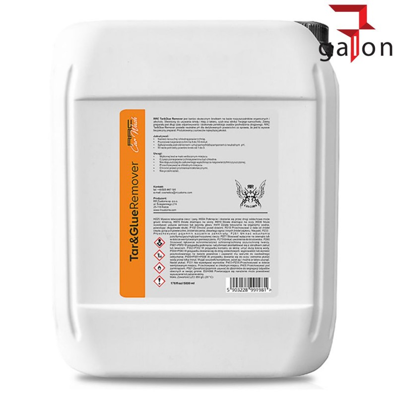 RR CUSTOMS TAR AND GLUE REMOVER 5L - Sklep Online Galonoleje.pl