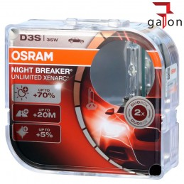 OSRAM XENARC NIGHT BREAKER UNLIMITED D3S|Sklep Online Galonoleje.pl