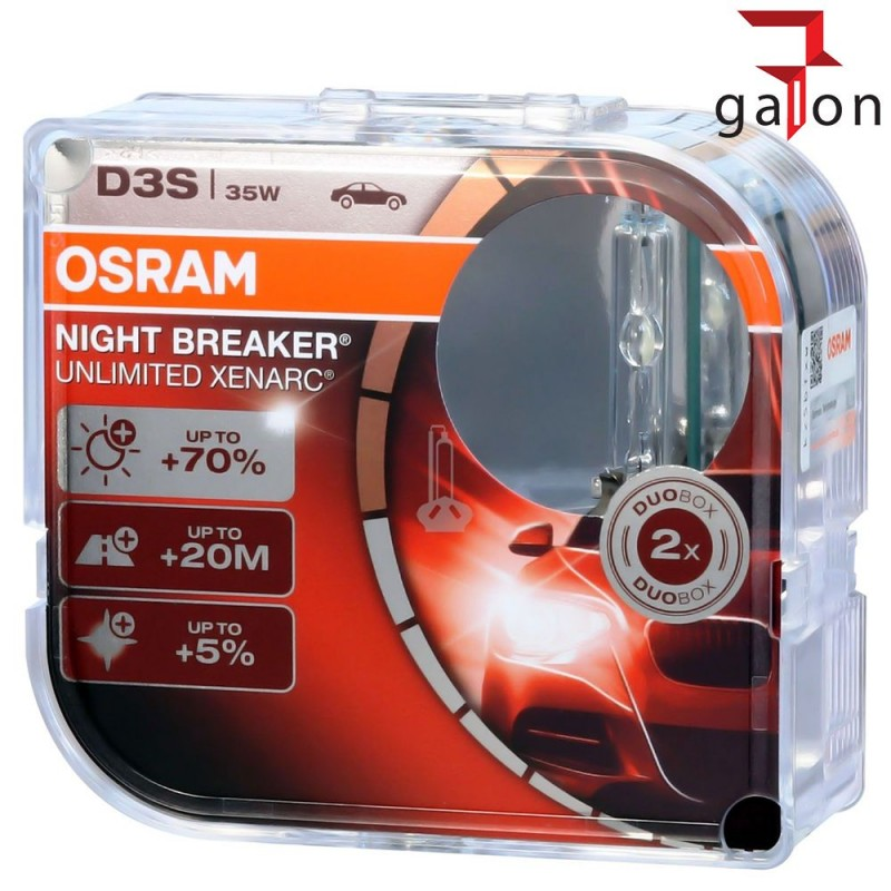 osram xenarc night breaker unlimited d3s sklep online. Black Bedroom Furniture Sets. Home Design Ideas