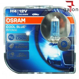 OSRAM COOL BLUE INTENSE H4 12V 60/55W P43T