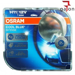 OSRAM COOL BLUE INTENSE H11 12V 55W PGJ19-2