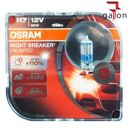 OSRAM NIGHT BREAKER UNLIMITED H7 12V 55W PX26d 2szt