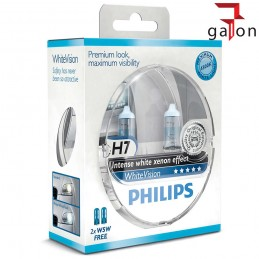 PHILIPS WhiteVision XENON EFFECT H7 12V 55W PX26d