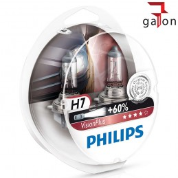 PHILIPS VisionPlus 60% H7 12V 55W PX26d