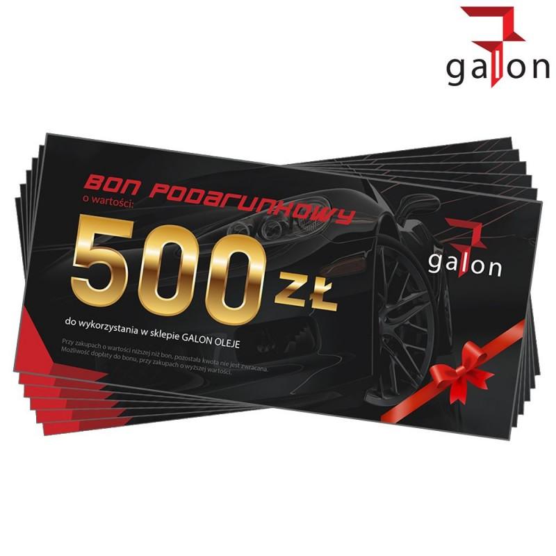 BON PODARUNKOWY o wartości 500zł | Sklep Online Galonoleje.pl