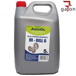 AGROOIL HI-OIL 6 80W 5L olej przekładniowy| Sklep Online Galonoleje.pl