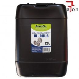 AGROOIL HI-OIL 6 80W 20L olej przekładniowy|Sklep Online Galonoleje.pl