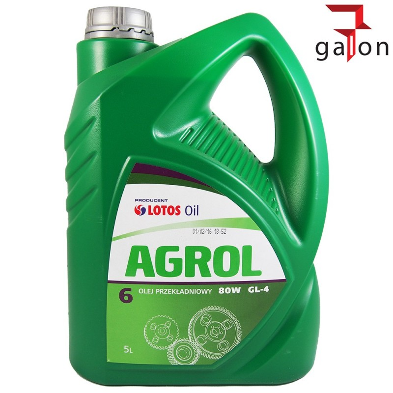 LOTOS AGROL 6 5L | Sklep Online Galonoleje.pl