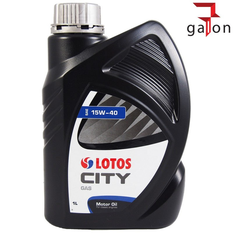 LOTOS CITY GAS 15W40 1L | Sklep Online Galonoleje.pl