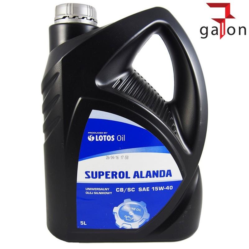 LOTOS SUPEROL ALANDA CB/SC 15W40 5L | Sklep Online Galonoleje.pl
