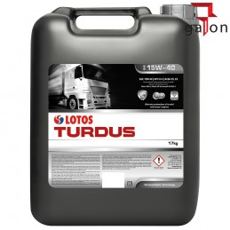 LOTOS TURDUS SHPD 15W40 17KG 20L | Sklep Online Galonoleje.pl