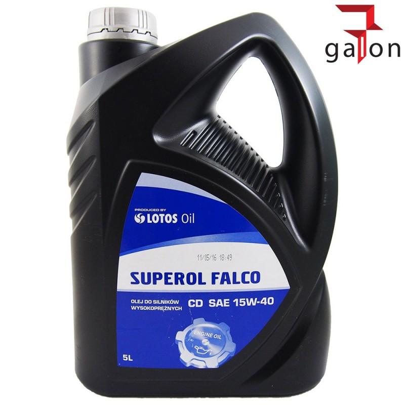 LOTOS SUPEROL FALCO CD 15W40 5L | Sklep Online Galonoleje.pl
