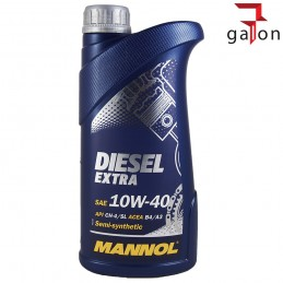 MANNOL DIESEL EXTRA 10W40 1L | Sklep Online Galonoleje.pl