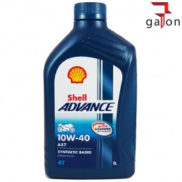 SHELL HELIX ADVANCE AX7 VSX 4T 10W40 1L