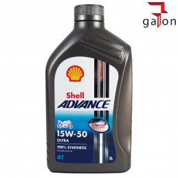 SHELL HELIX ADVANCE ULTRA 4T 15W50 1L
