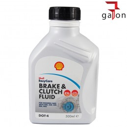SHELL BRAKE & CLUTH FLUID DOT 4 500ML - płyn hamulcowy