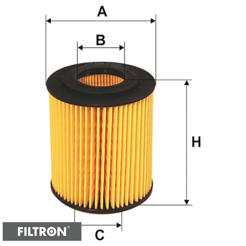FILTRON FILTR OLEJU OE649/6